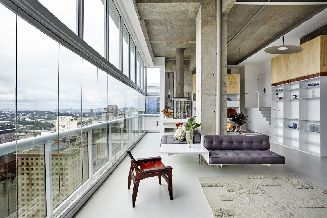 metro arquitetos apartamento jk