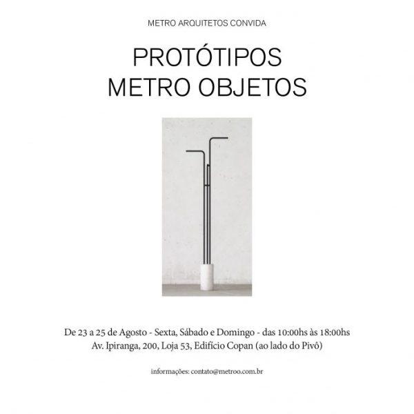 convite METRO OBJETOS